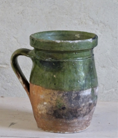 19th century olive oil pot / French cruche