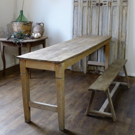 Antiqe narrow dining table