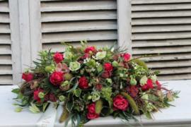 bloemstuk 'vaarwel'
