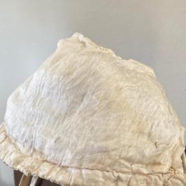 Silk baby hat