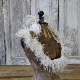 Guirlande van struisvogelveren