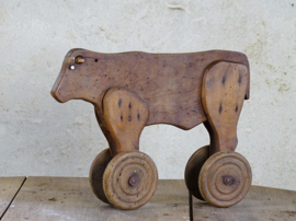 cow on wheels