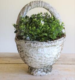 French garden vase / garden basket
