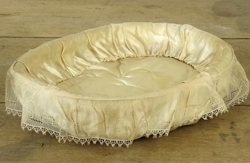 Silk communion basket