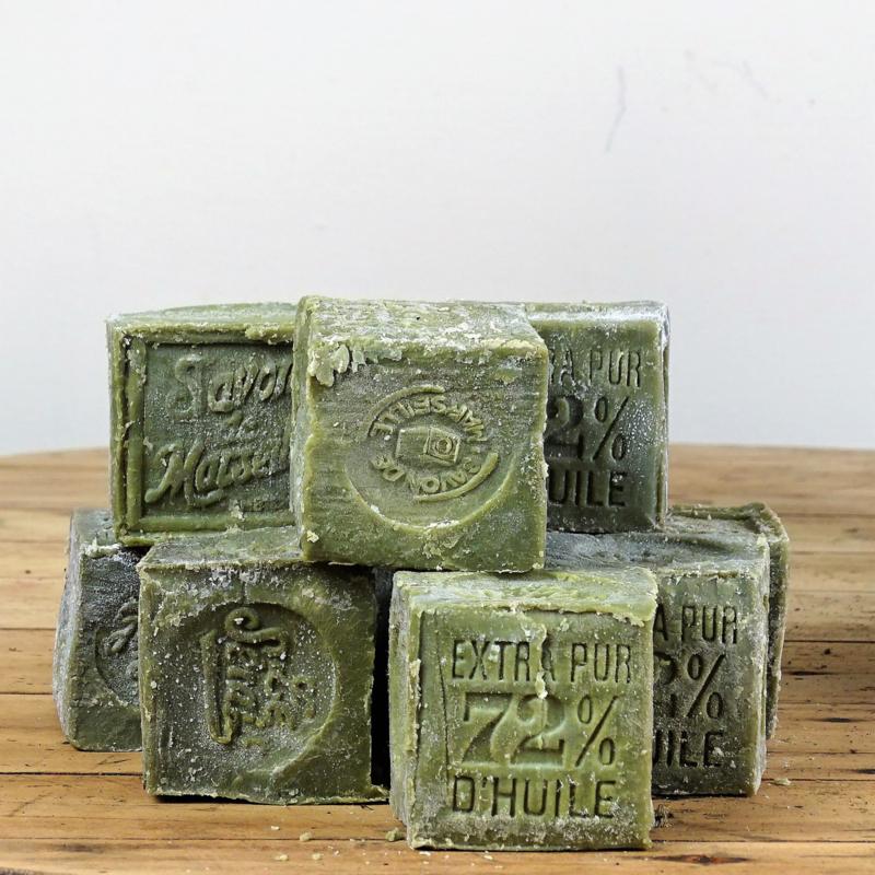 Oude Marseille zeep
