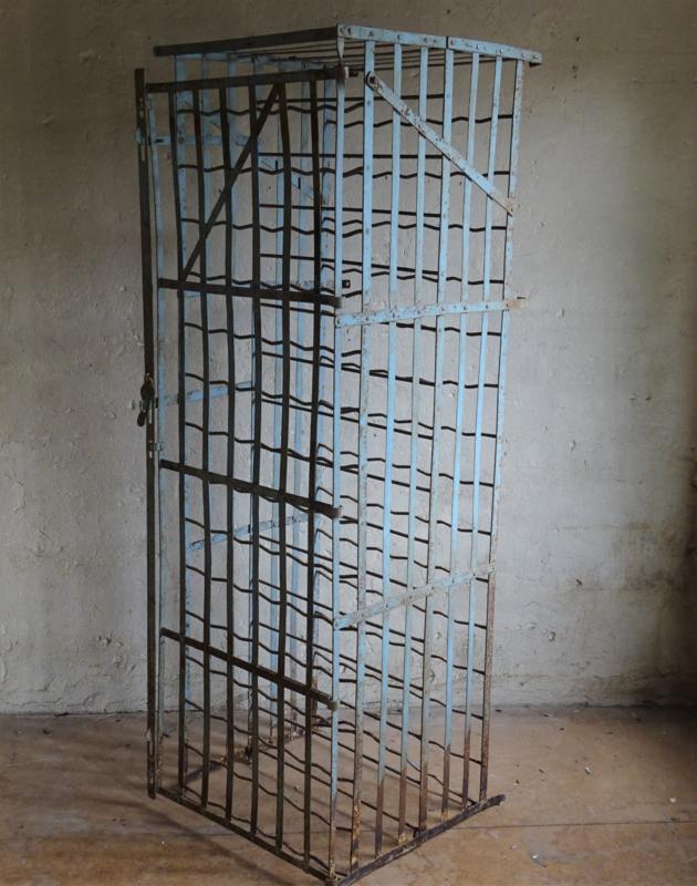 French Iron wine rack / bottle rack