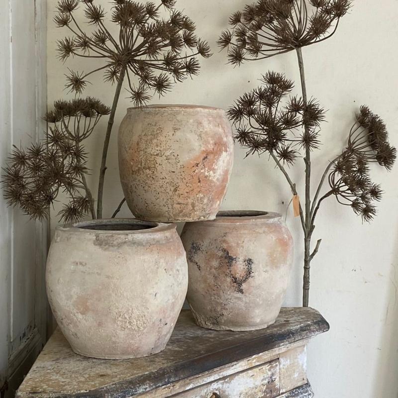 Franse terracotta pot