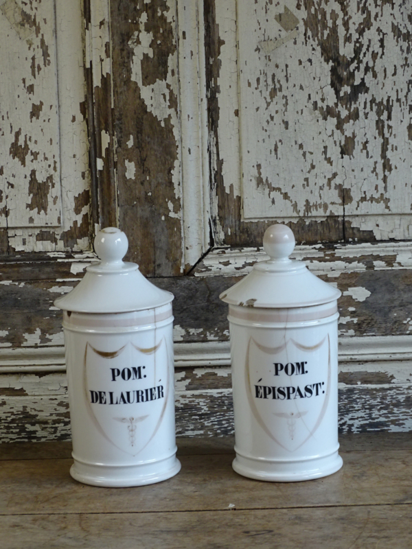 Set apothekers potten