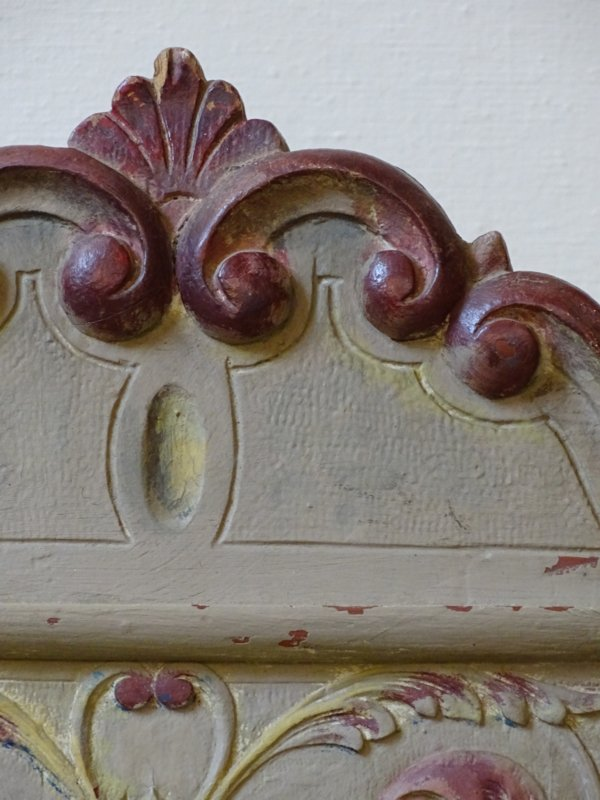 Handbeschilderde Franse stoelen (set van twee)