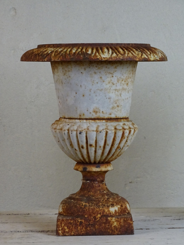 Cast iron Versaille vase