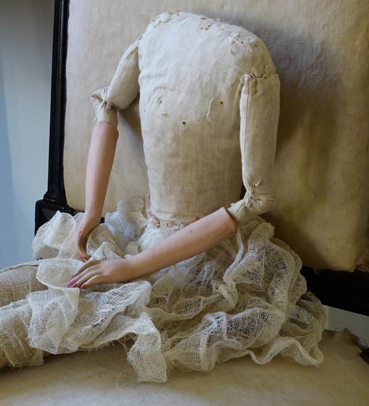 Sofadoll zonder hoofd