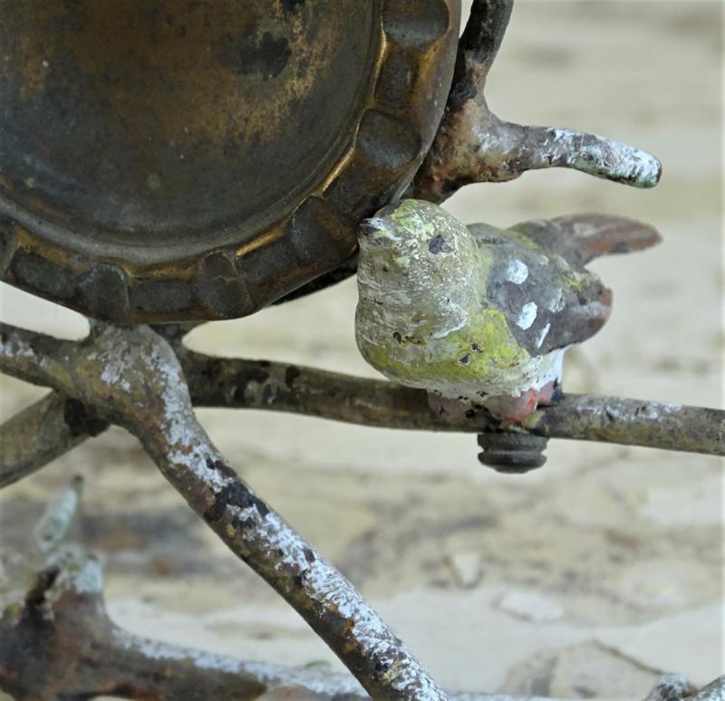 Porte montre met vogeltjes