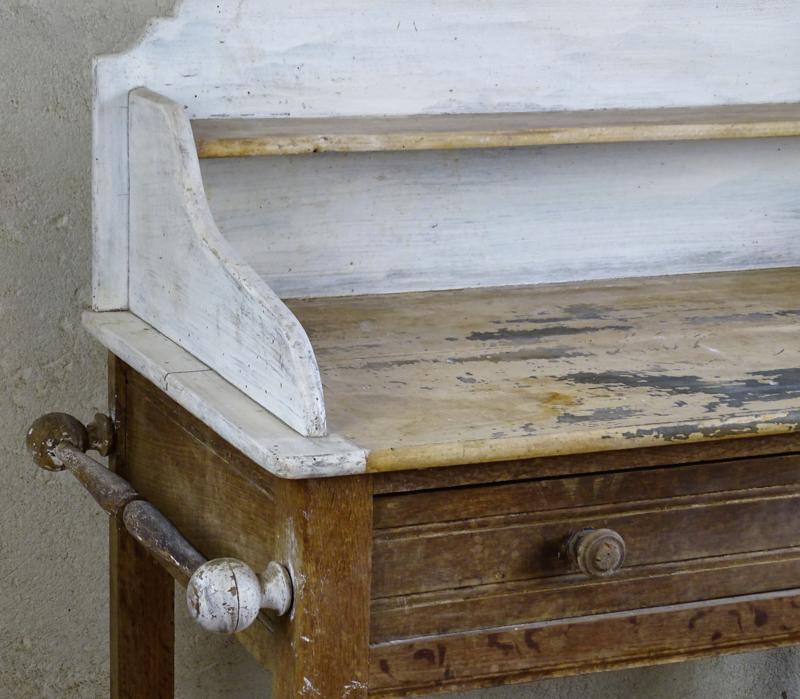 Antique bath cabinet