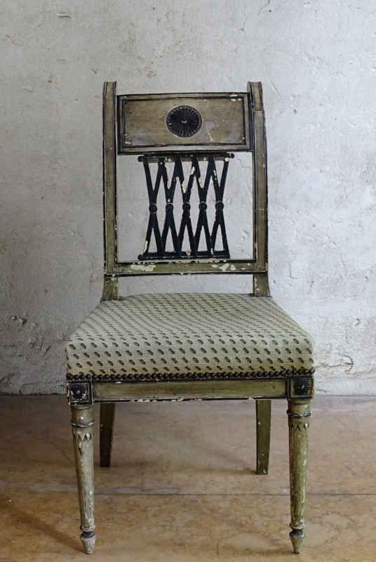 Antique French Chair Empire Period