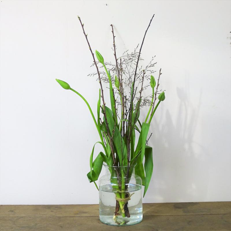 Franse tulpen boeket