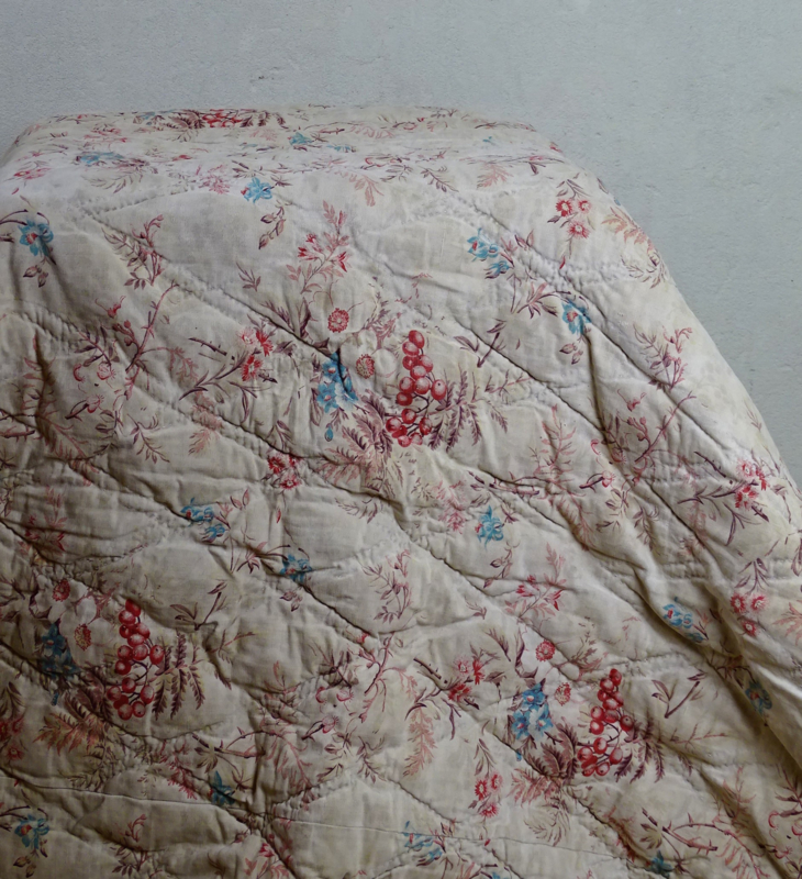 Antique French quilt/boutis
