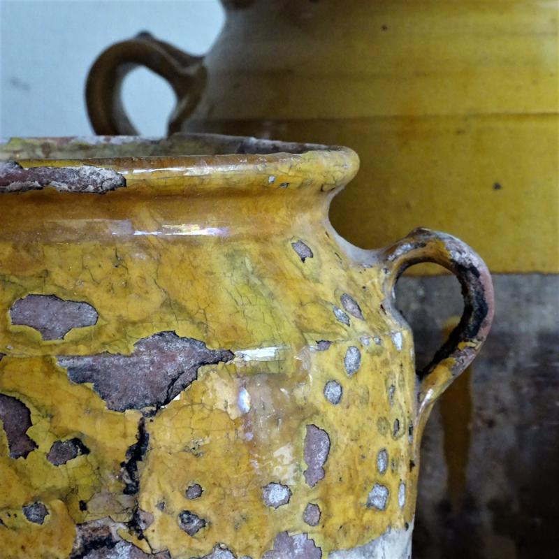 Antieke Franse confitpot