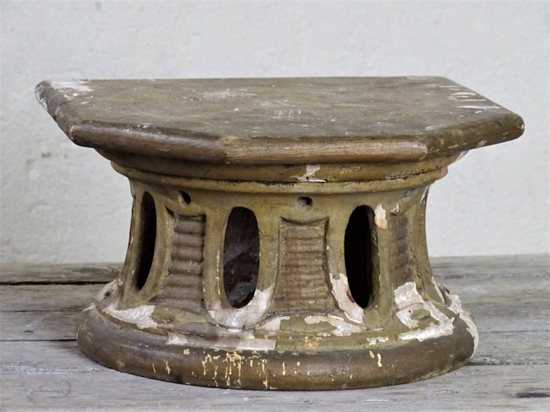 18th century wooden console