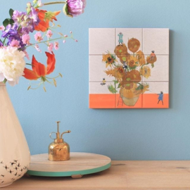 StoryTiles tableau Van Gogh, 33 x 33 cm Limited Edition