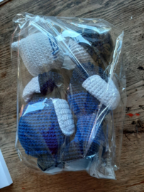 Delfs Blauw Folklore Hand made