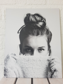Woman Bun Via Martine op forex geprint