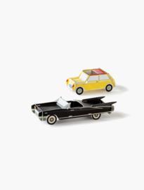Cool cars, 2 stuks geel en zwart.