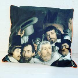 Oude Meesters By Cick kussens, compleet uit een serie van totaal 8 stuks.
