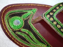 Slippers uit India.