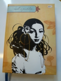Notebook van Papaya- Spanisch girl.
