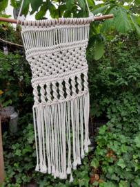 Macrame Ecru Katoen Handmade