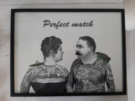 Vanilla Fly Fotoprint in lijst  30 x 40 cm Perfect match