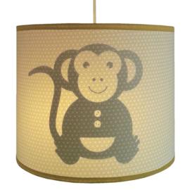 Lamp Aap, retro okergeel.