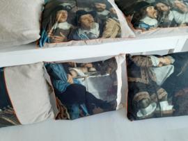 Oude Meesters By Cick kussen compleet uit een serie van totaal 8 stuks.