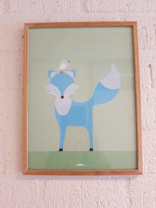 Anni Design - poster Vos 30 x 40 cm