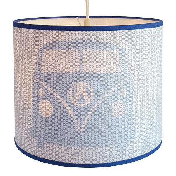 Lamp Busje, blauw.