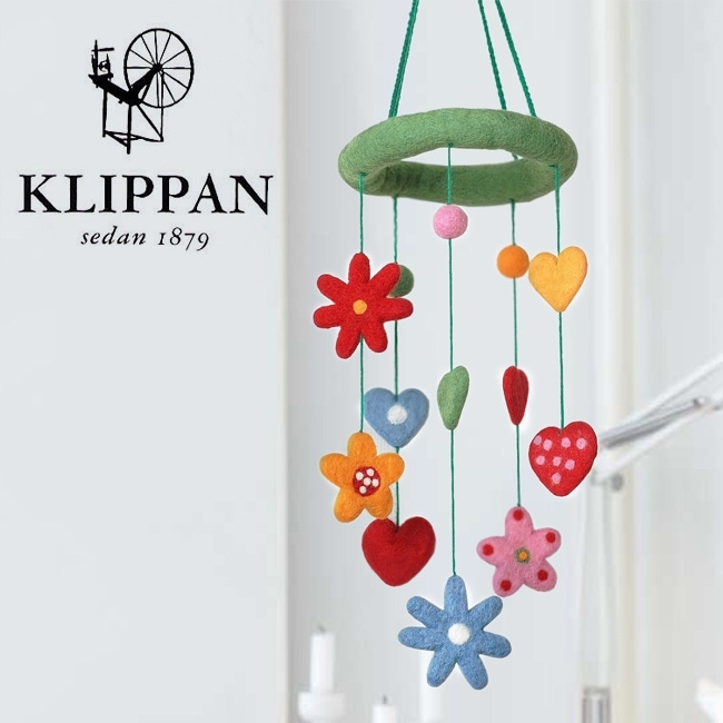 Klippan mobiel Heart & Flowers Mobiel Heart & Flowers