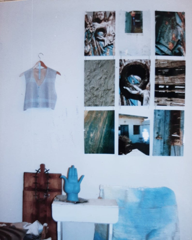 Kunstuitleen Foto-gra-sfeer 9-luik. Portazul