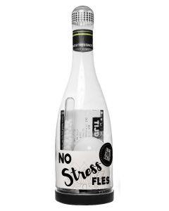 De No Stress fles - Kletspot en Corona proof:)