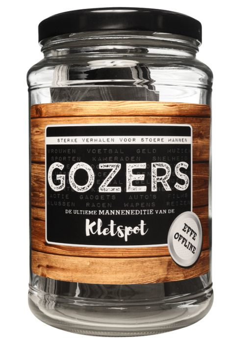 Gozers - De kletspot voor stoere mannen.