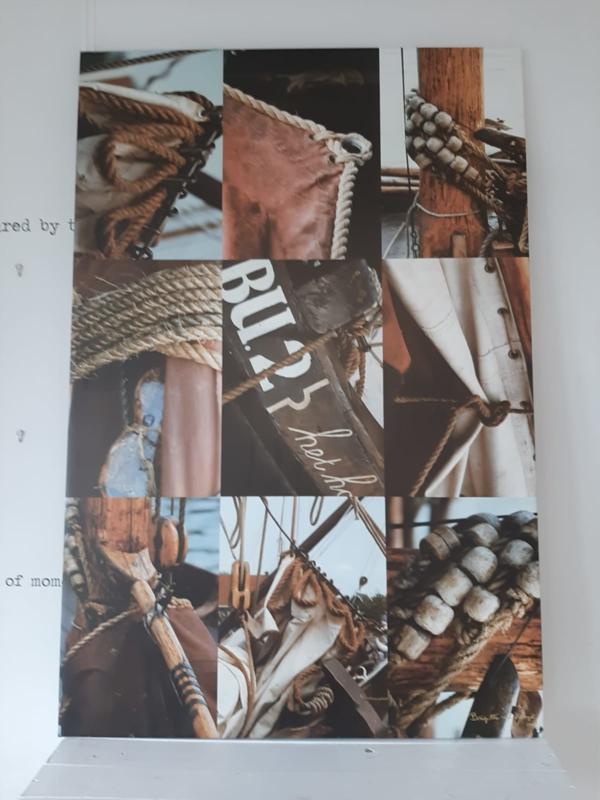9- luik  By Cick -Foto art op doek. Hollands Glorie