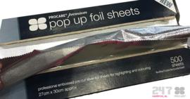 Procare Pop up folie sheets 27x30 cm (1 doosje)
