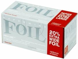 Procare Premium folierol, 100 m X 12 cm, 18 mu, rood
