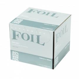8 rollen Procare Clog folie 12 cm x 500 m, 18 mu, zilver + Clog dispenser