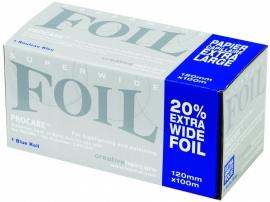 Procare Premium folierol, 100 m X 12 cm, 18 mu, blauw