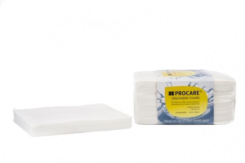 Procare Disposable Towels Wit 600 stuks