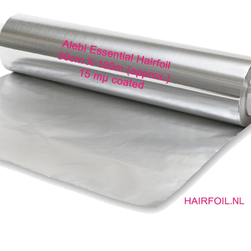 1 rol Alebi Essential folie, 30cm X 100m, 15 mu coated,  zilver