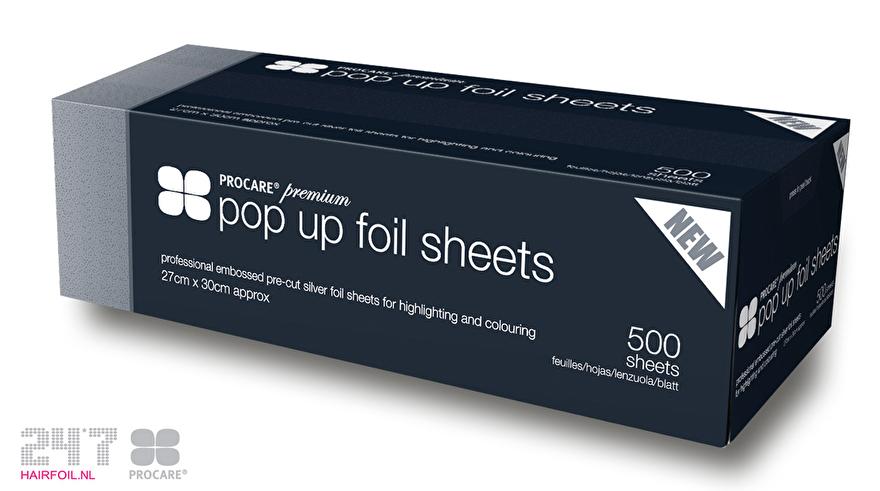 Procare Pop Up foil sheets