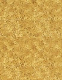 Timeless Treasures ECHO geel/goud (gold)