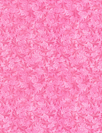 Timeless Treasures ECHO  roze (bubblegum)