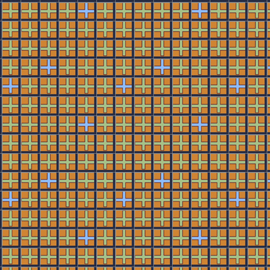 6922-72 Double Grid Brown